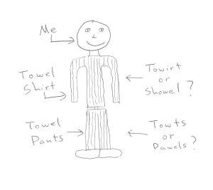Towel Clothes
