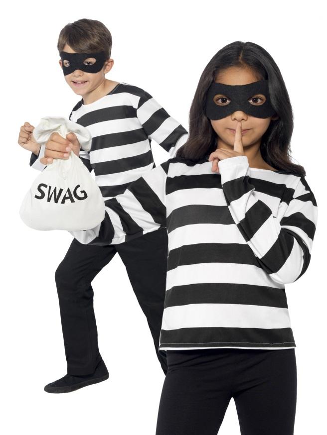 Masked Kids Put on