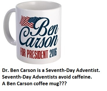Ben Carson Coffee Mug