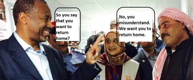 Ben carson syrian refugee text