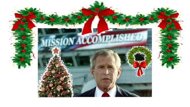 Bush Merry Christmas