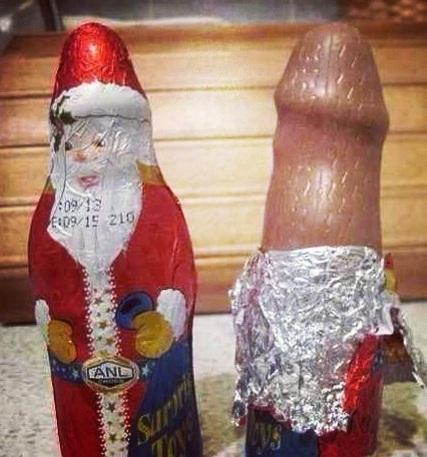 ChocolateSanta penis