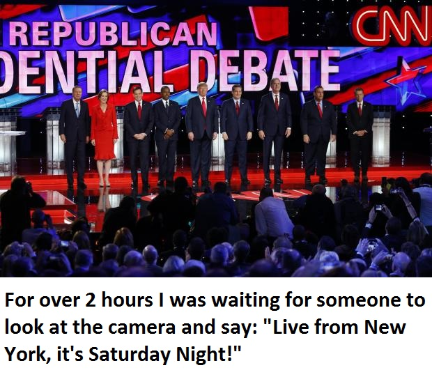 CNN Debate with text