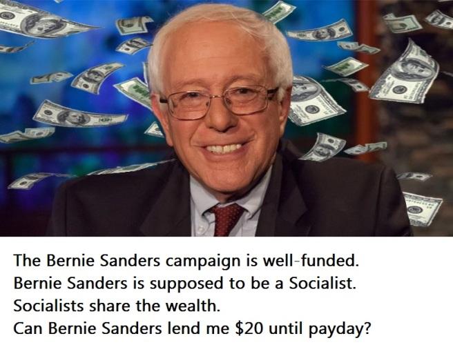 Bernie-Sanders-Money with text