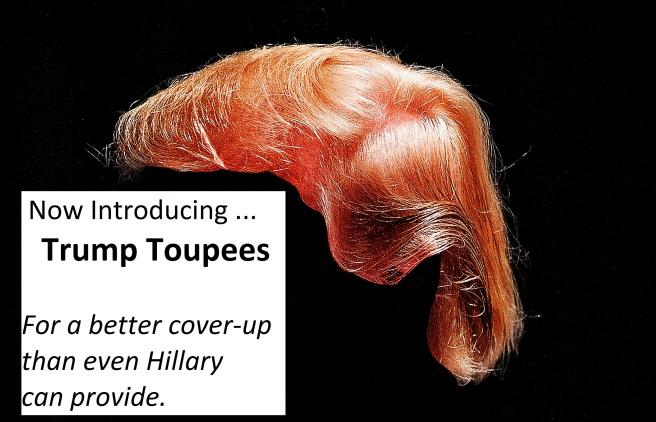 Trump Toupees Text