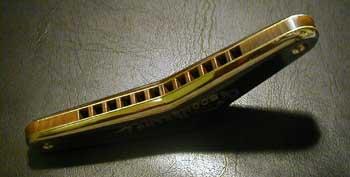 harmonica bent