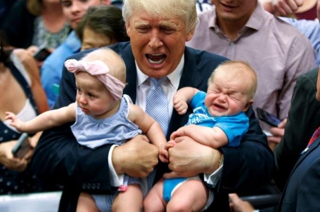 trump baby crop