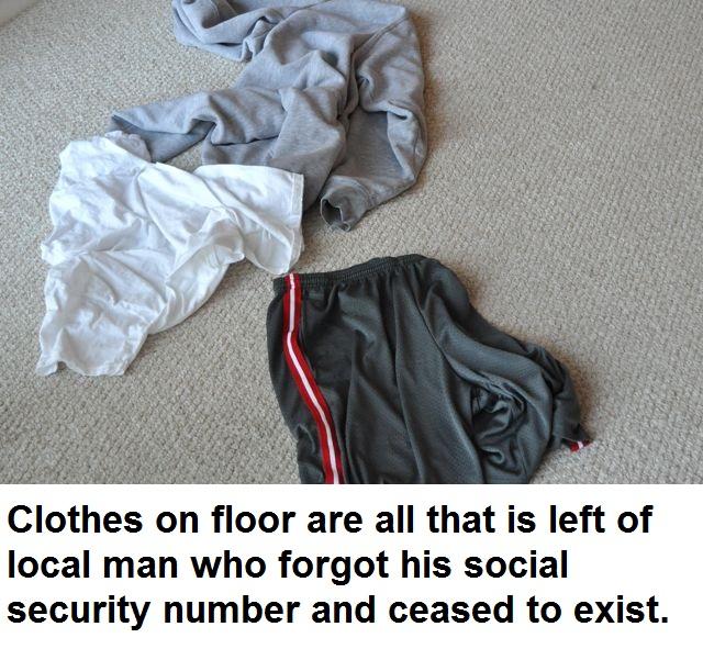 Clothes exist