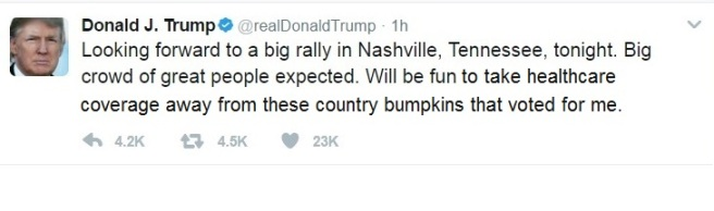 Trump Tweet Nashville