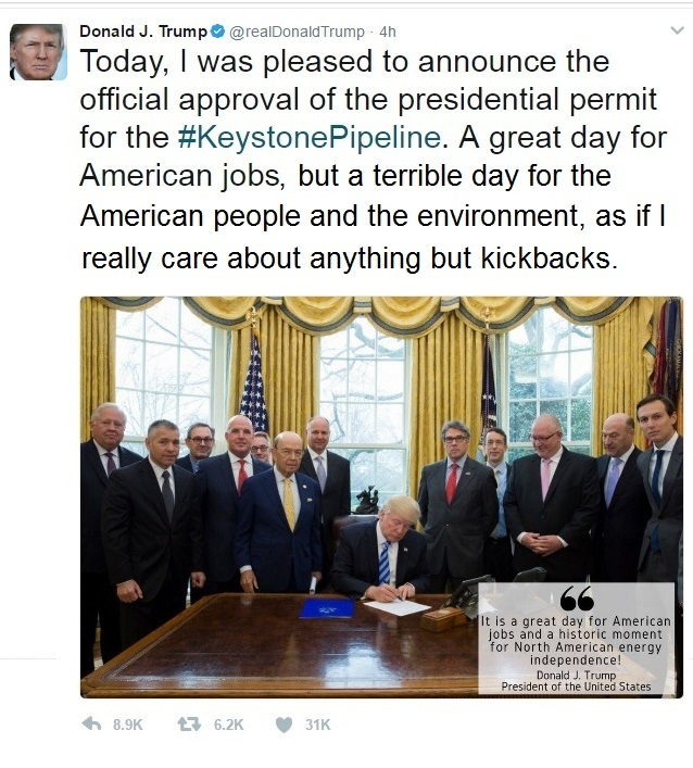 Trump Tweet Pipeline