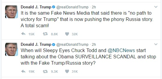 Trump Tweet April Fools