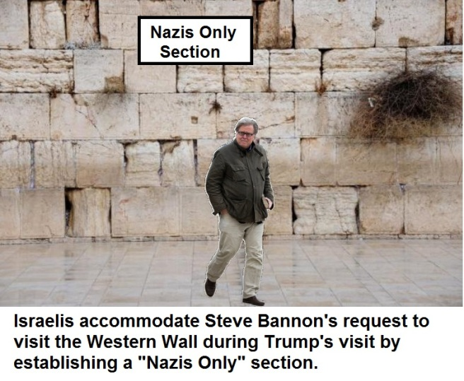Bannon Visits Wall