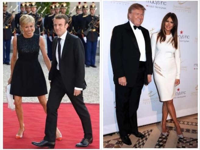 Macron Trump