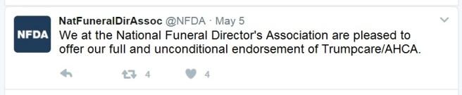 NFDA Tweet
