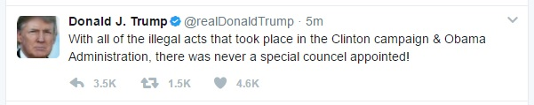 Trump Tweet Councel