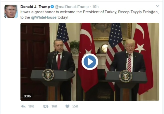 Trump Tweet Erdogan