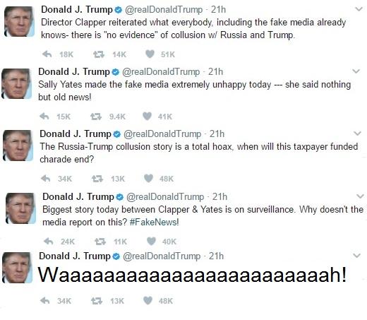 Trump Tweet Yates