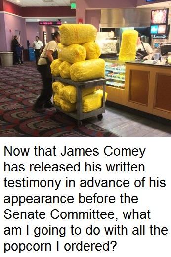 Popcorn comey