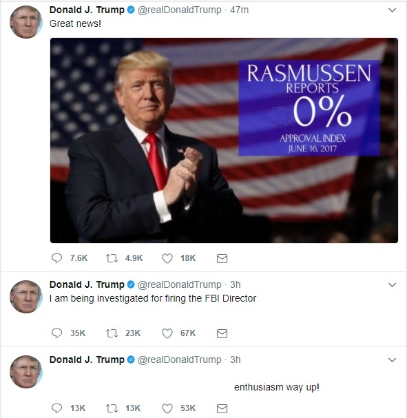 Trump Tweet secret message 2