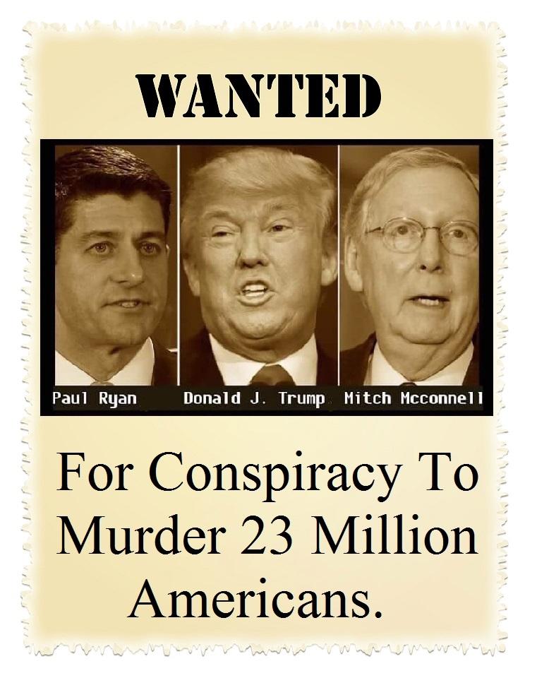 Wanted trump etc