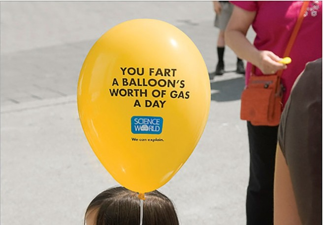 fart balloon