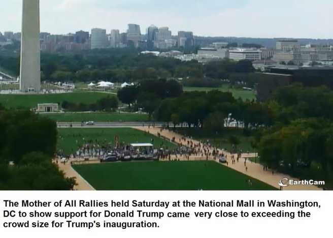 Mother of All Rallies Text