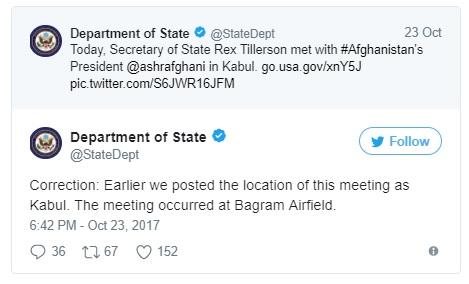 State Dept Tweet