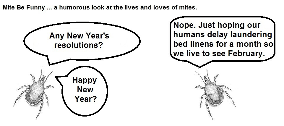 Mite Be Funny #47 New Years