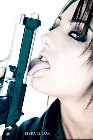 kiss gun6