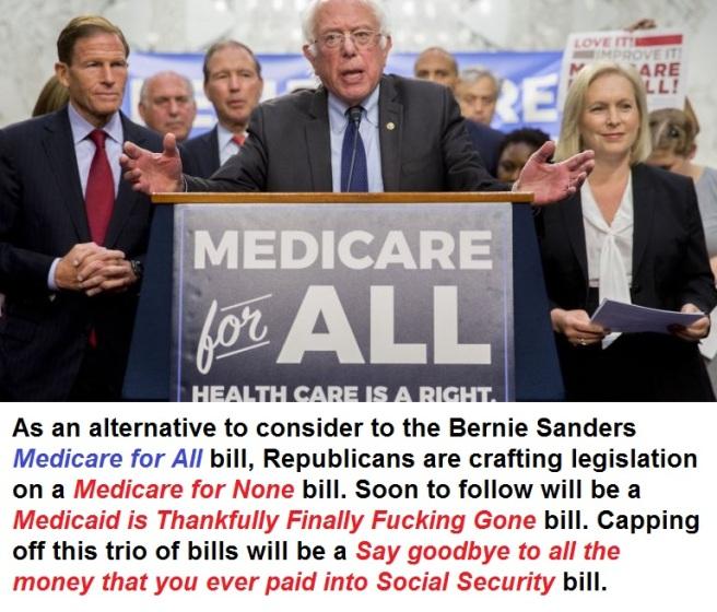 Sanders Medicare GOP