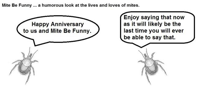 Mite Be Funny #58 Anniversarya