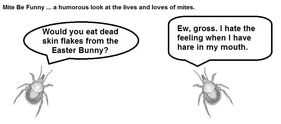 Mite Be Funny #61 Easter Bunny