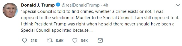 Trump Tweet Council Corrected