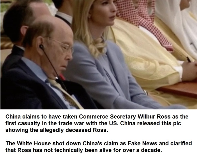 Wilbur Ross deceased