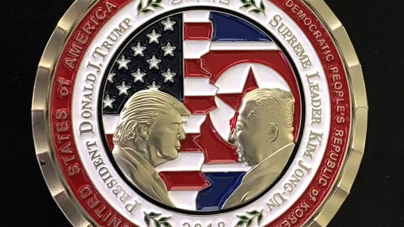 Korea summit coin
