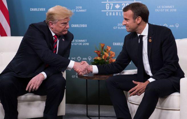 G7 trump macron handshake1