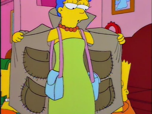 Marge coat with pockets