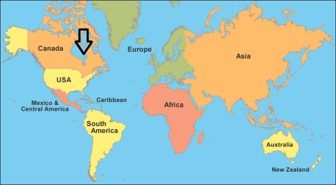 world-map-clickable arrow