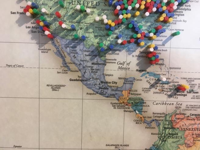 Litchfield Map Mexico