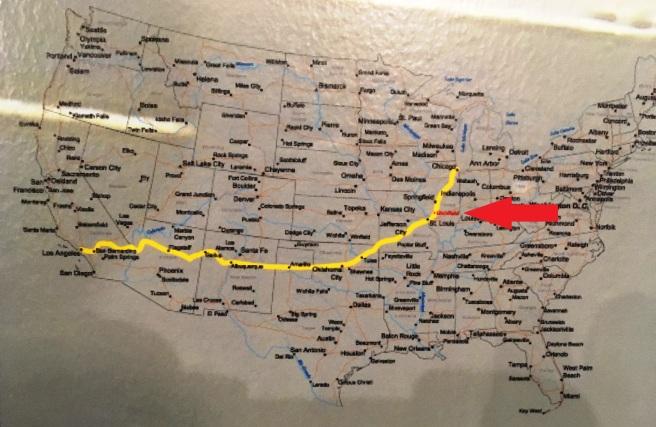 Litchfield Route 66 Map