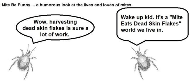 Mite Be Funny #80a Mite Eat Mite