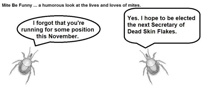 Mite Be Funny #80c Mite Eat Mite