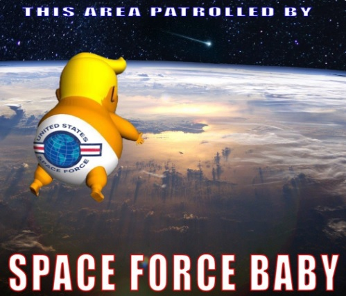 Space Force Baby
