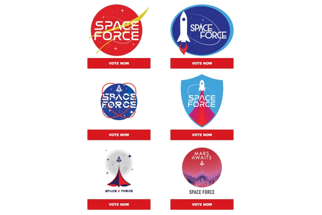Space Force Logos
