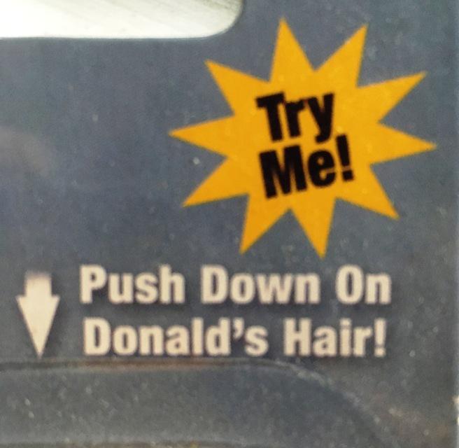 Trump Pen Hair