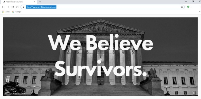 brett kavanaugh website