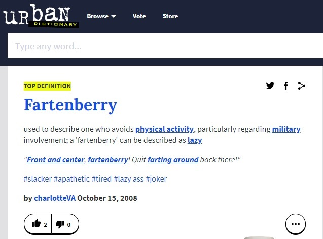 fortenberry definition