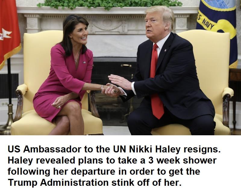 haley resigns