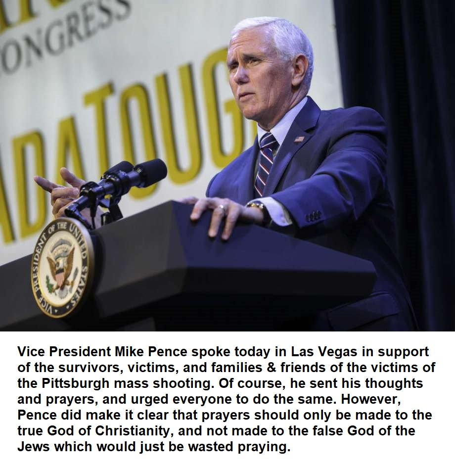 Pence vegas prayers