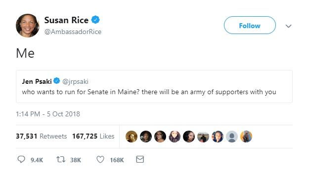 Susan Rice Tweet